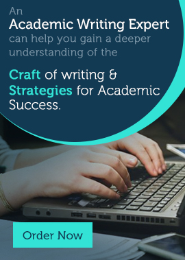 An Academic Writing Expert can help you gain a deeper understanding of the Craft of writing & Strategies for Academic Success.