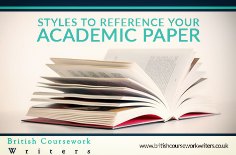 Styles To Reference Your Academic Paper