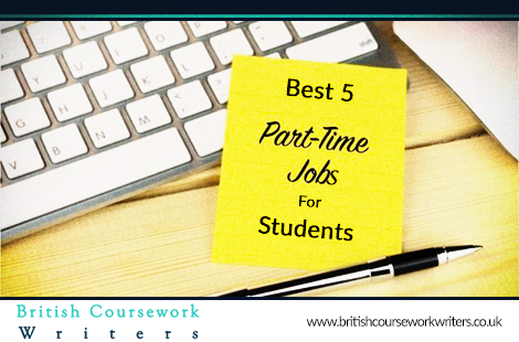 Best 5 Part-Time Jobs For Students