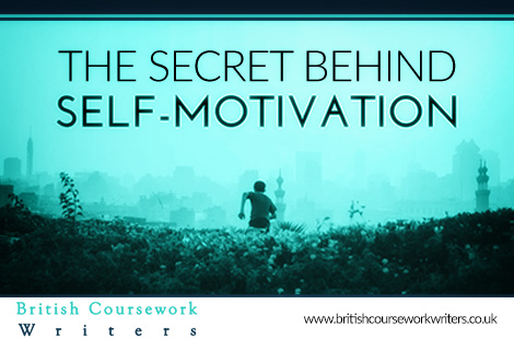 The Secret Behind Self-Motivation